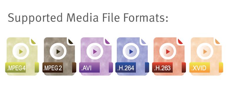 media file formats