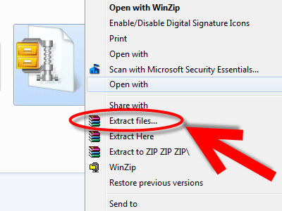 send-self-extracting-winzip-files-step-3